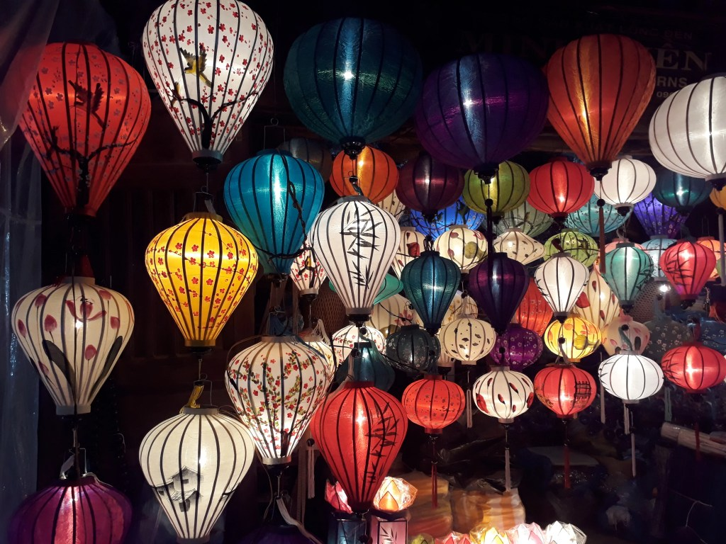 Colorful lanterns for sale in Hoi An (Photo by Elen Turner)