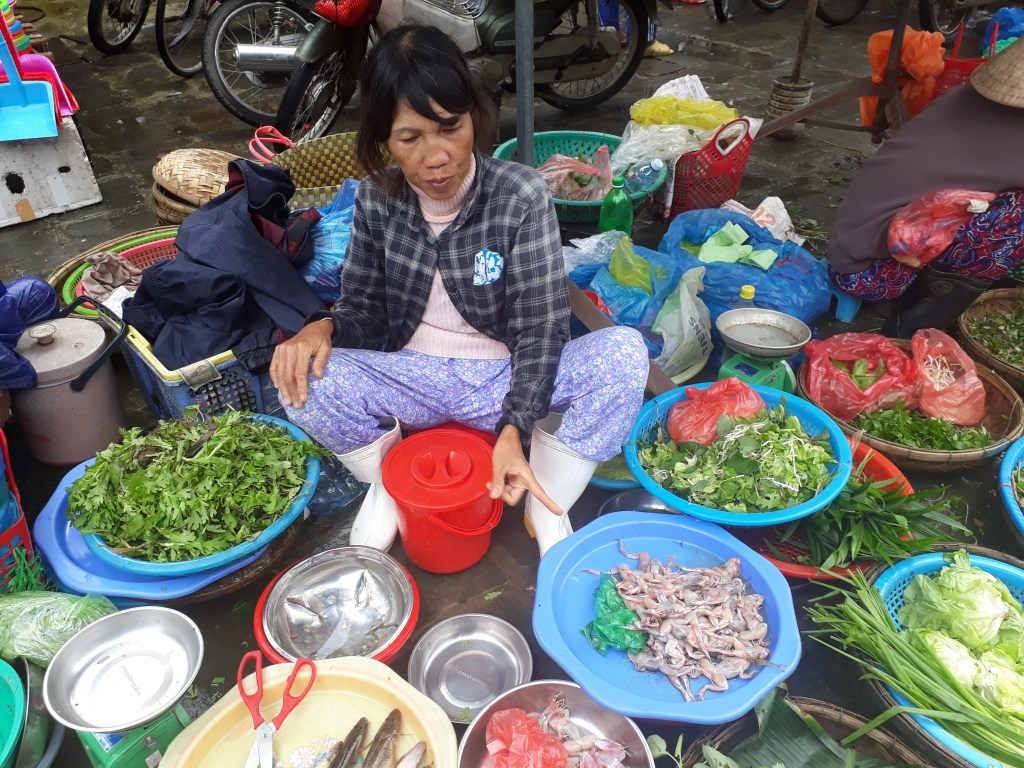 Markets in Vietnam are a fun place to go sightseeing (Photo by Elen Turner)