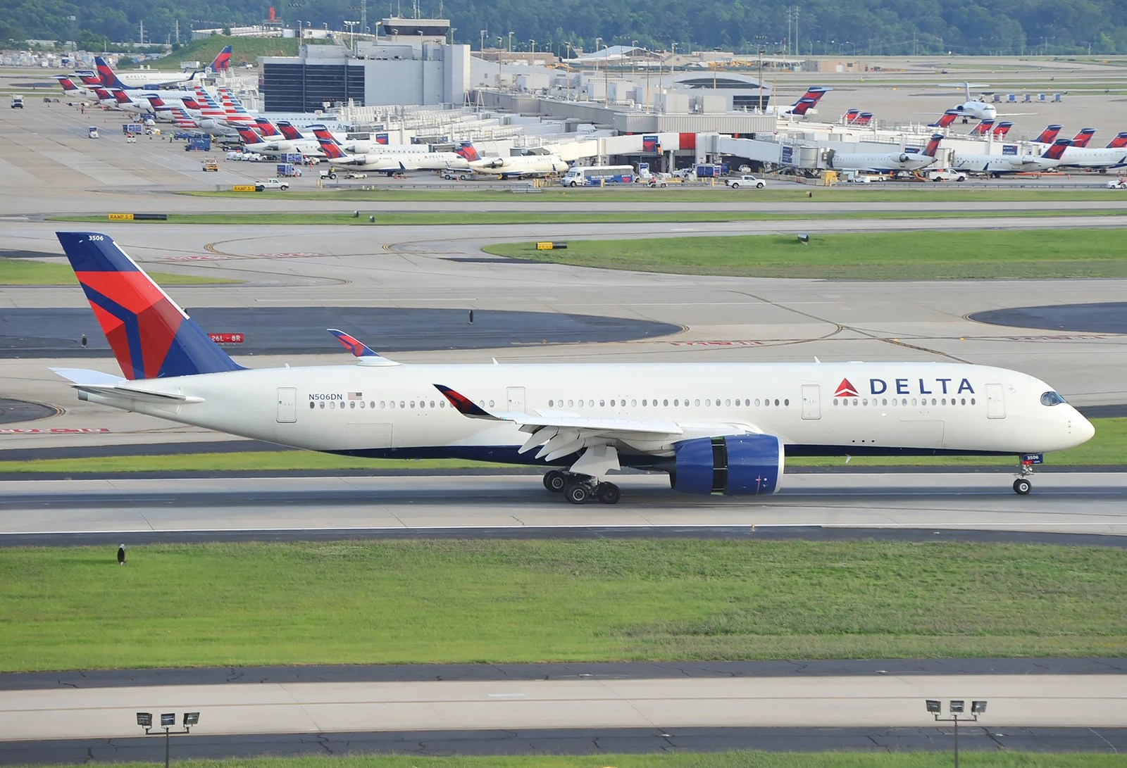 Delta to serve all 777 routes with A350s, and add Cape Town