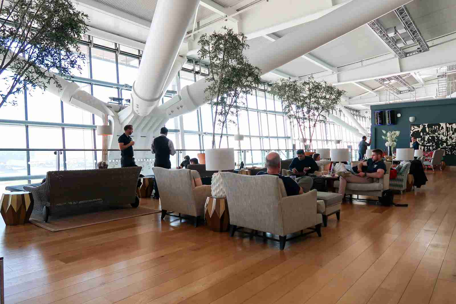 British Airways Concorde Room Lounge (Photo by Daniel Ross/The Points Guy)
