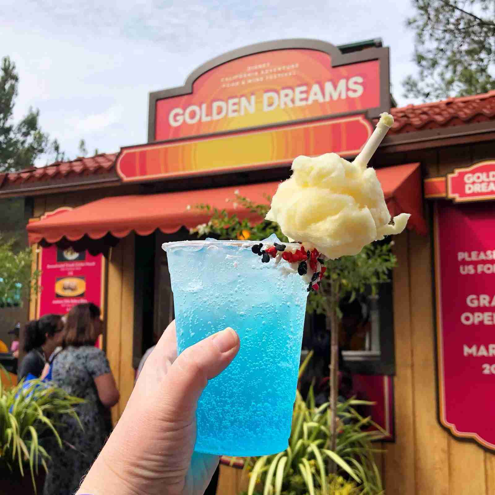 DCA Food Wine - Mickey Cotton Candy Soda