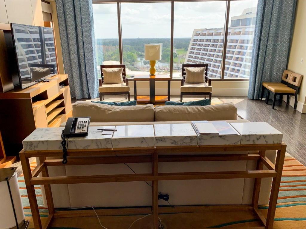 Review: Bay Lake Tower at Disney's Contemporary Resort on monterey bay, walk out dormer, walk out garden, walk out bow, walk out foundation,