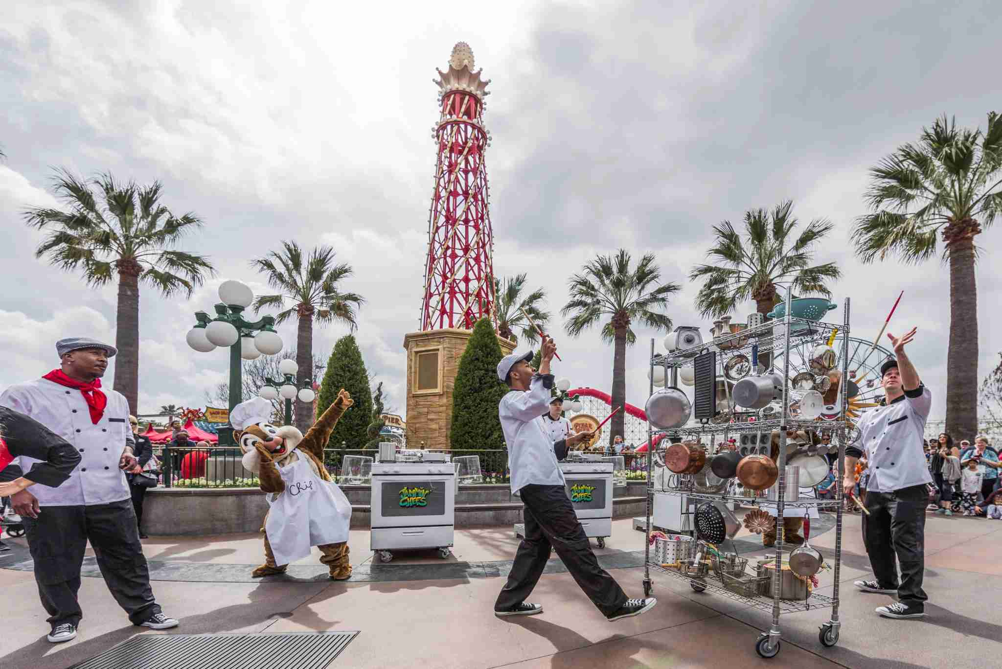 Disney California Adventure Food & Wine Festival Family Friendly Entertainment Ð JamminÕ Chefs