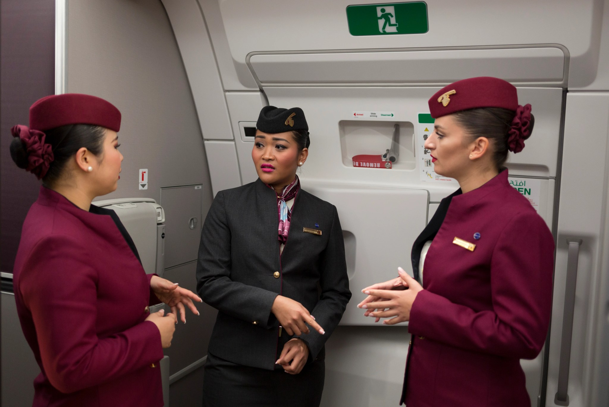 Air Italy S Familiar Looking New Uniforms Likely To Fuel Concerns About Ties To Qatar