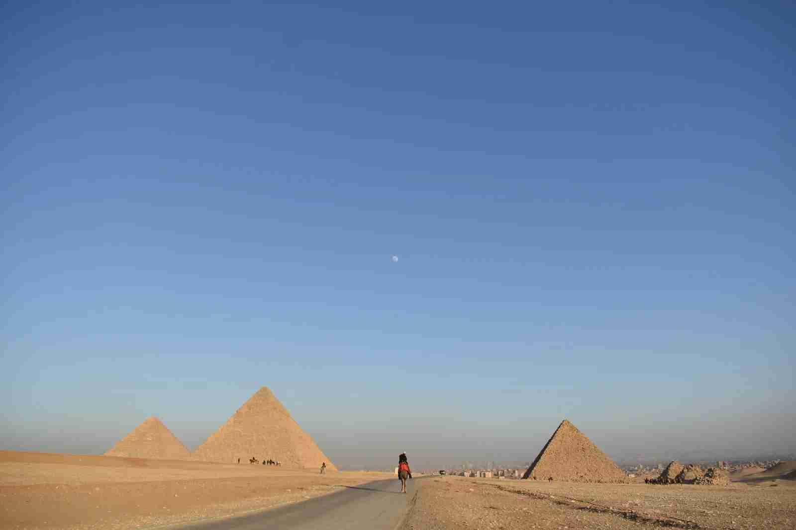Giza, Egypt. (Photo by Carlos Aguilar/Unsplash)