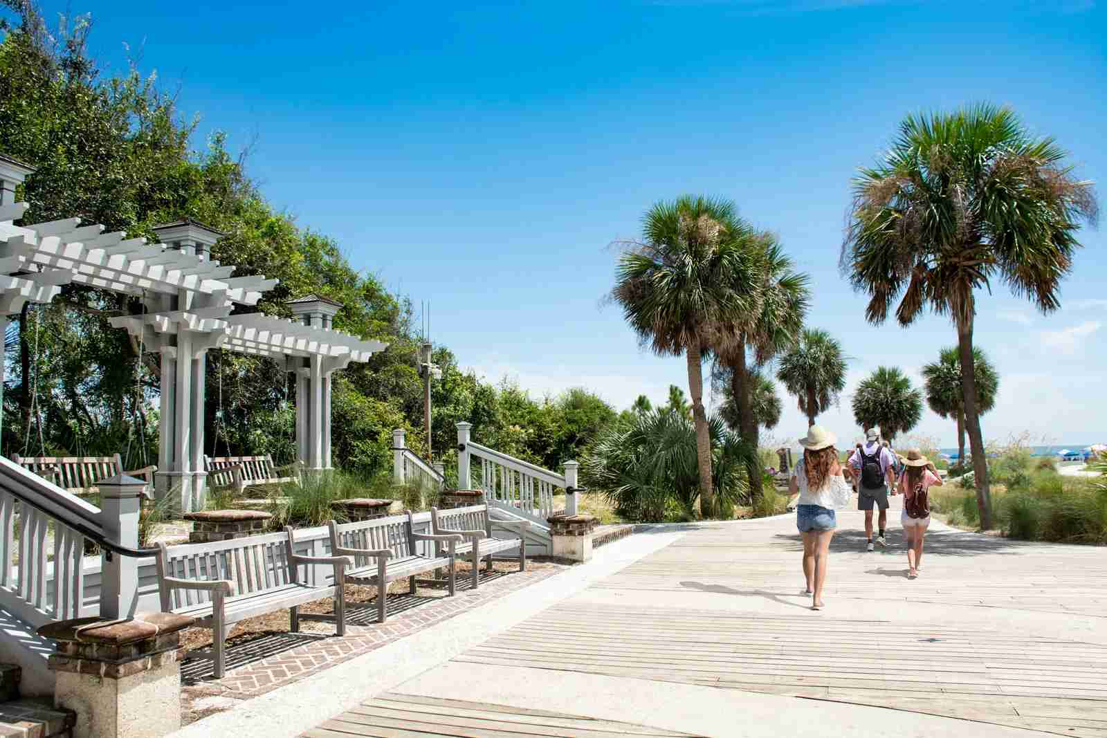 Coligny Beach Park on Hilton Head Island. (Photo via Getty Images)