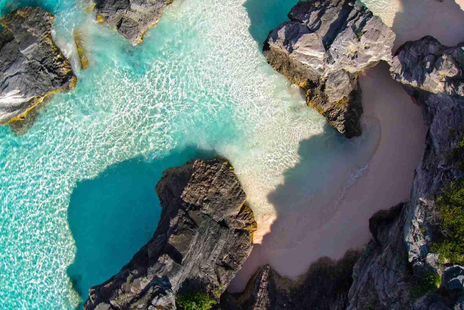 Horseshoe Bay, Bermuda. (Photo via Getty Images)