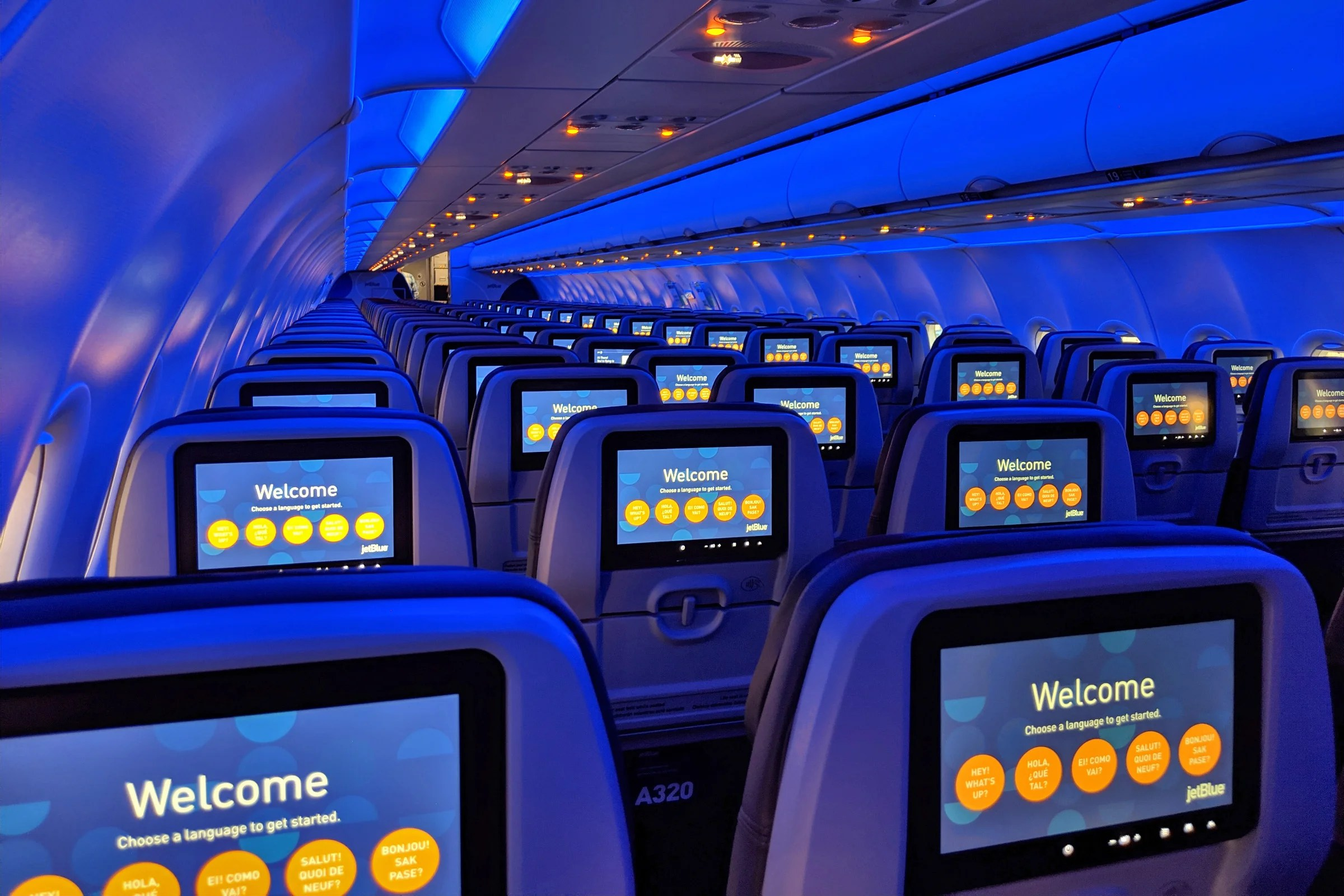 JetBlue Commits to Fleet-Wide Seatback Entertainment