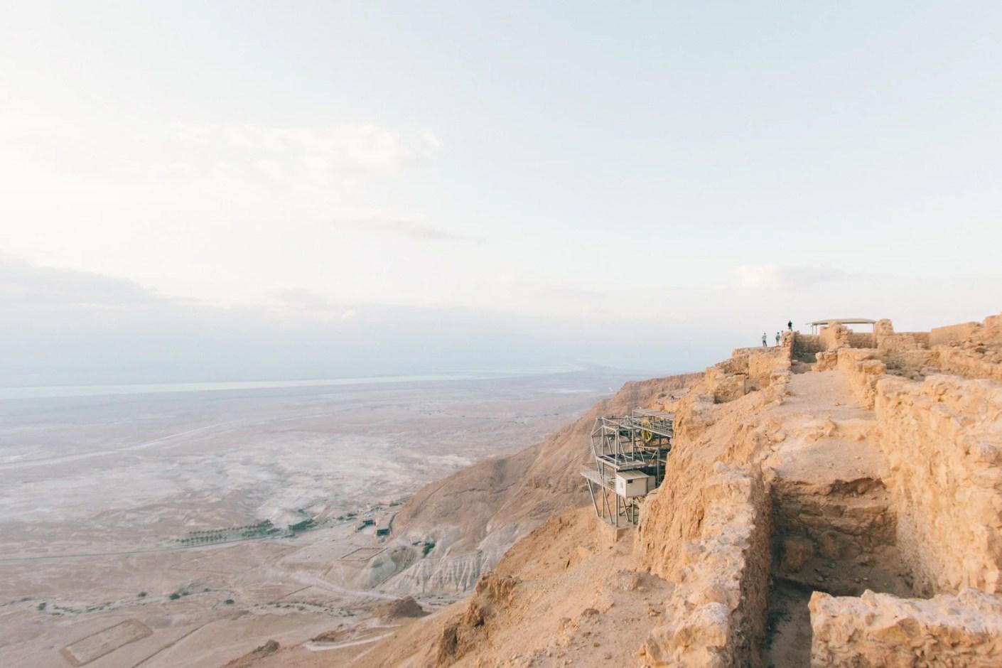 Masada National Park, Israel. (Photo by Robert Bye/Unsplash)