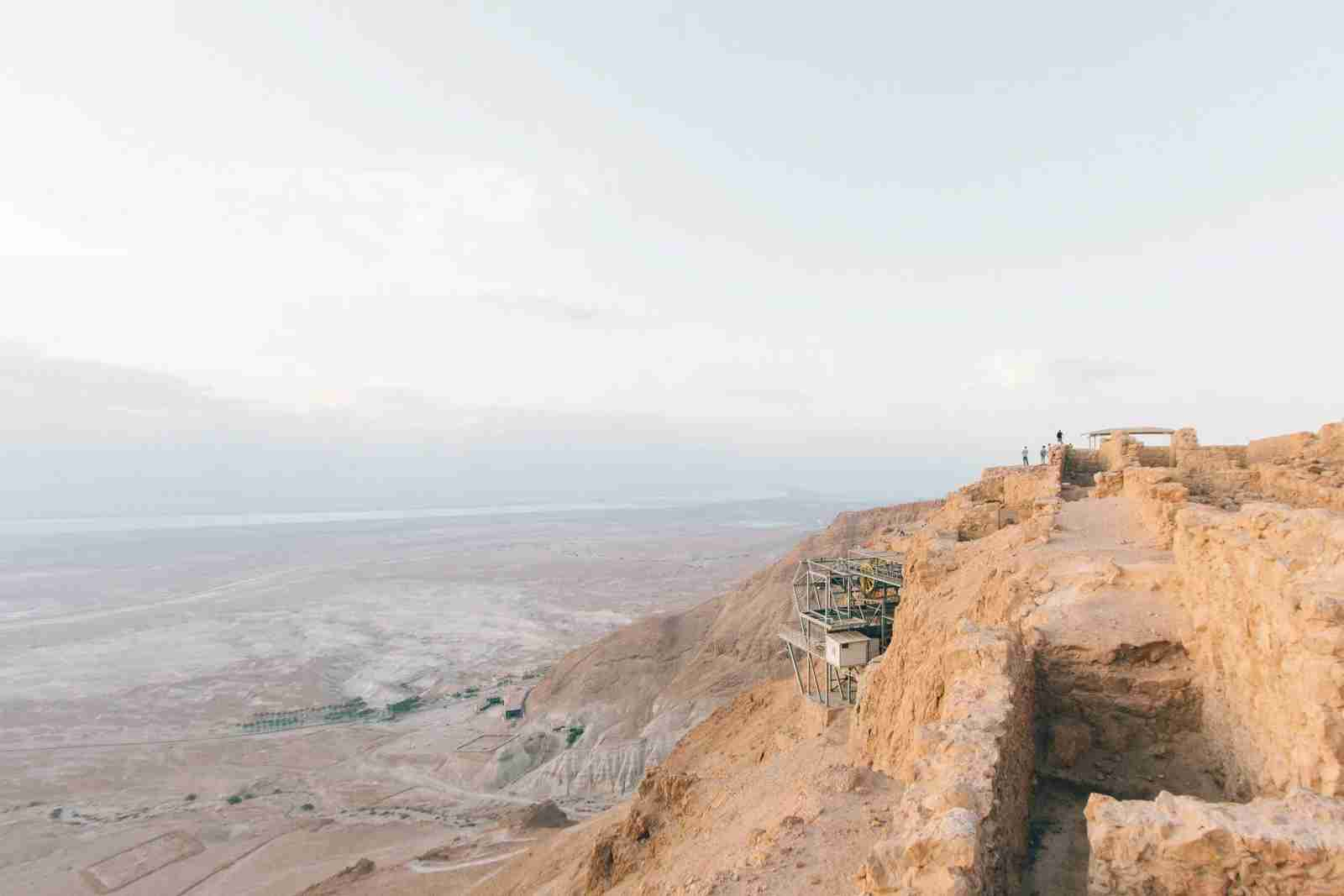 Masada National Park, Israel. (Photo by Robert Bye/Unsplash)