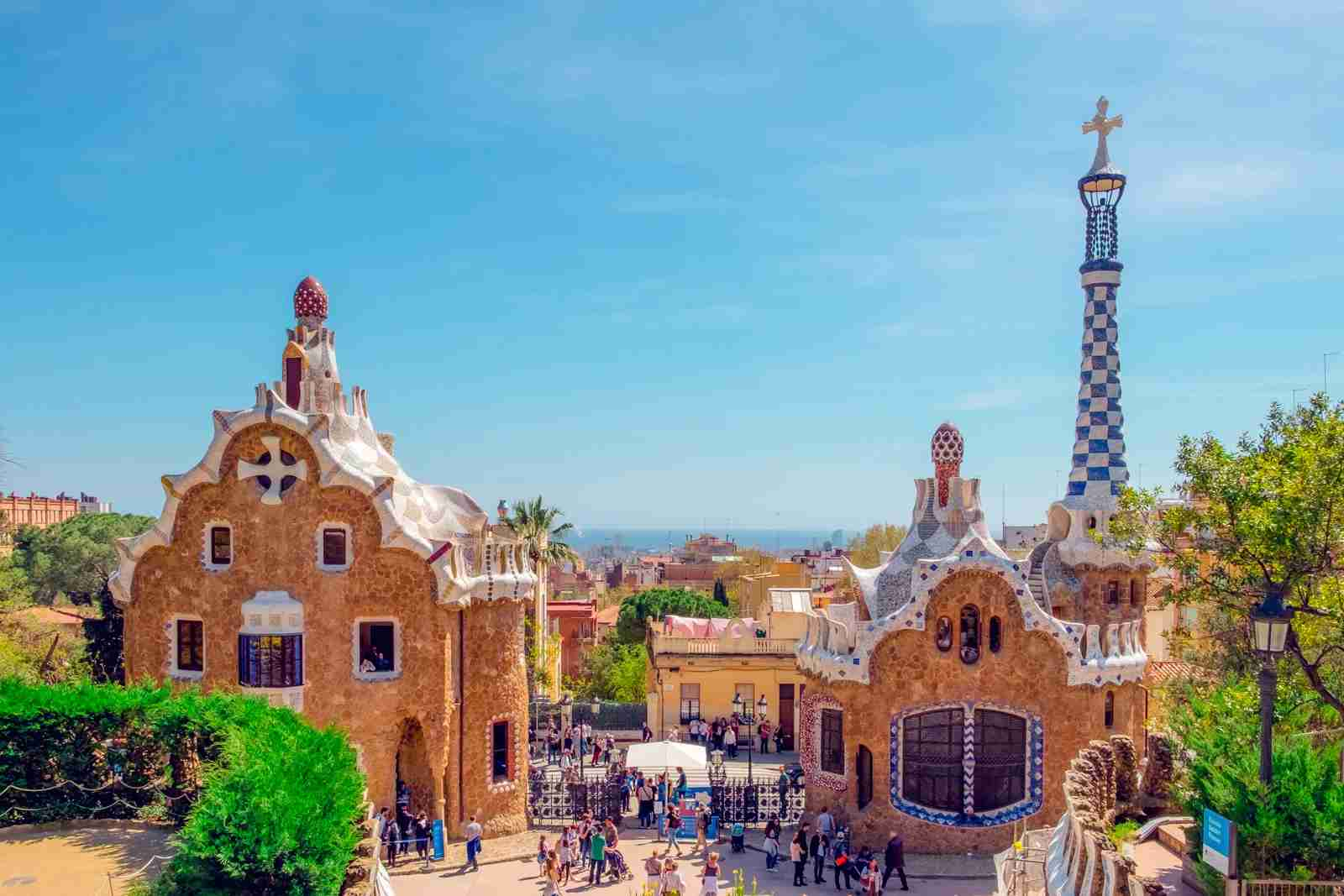 Park Güell, designed by Catalan architect Antoni Gaudí. (Photo by Daniel Corneschi/Unsplash)