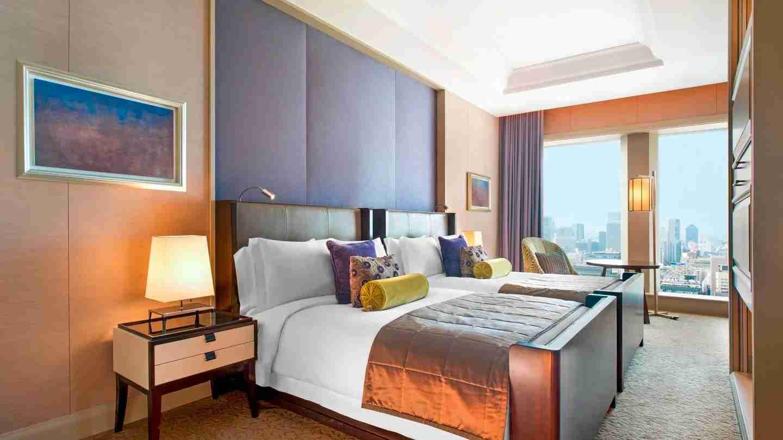 The St. Regis Osaka, Fuji Suite (Photo courtesy of the hotel)