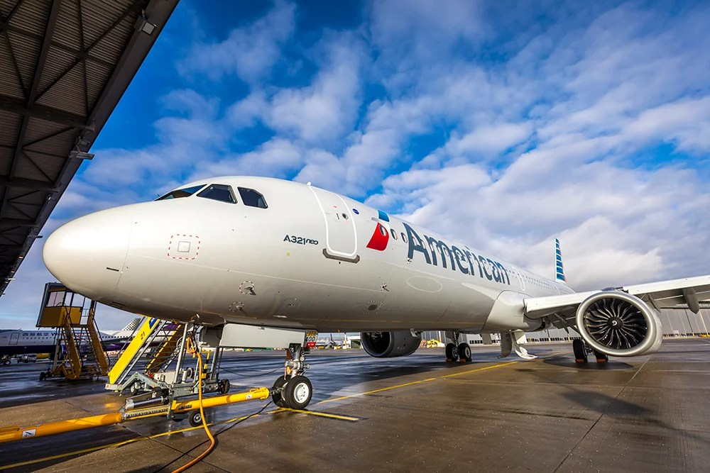 First Look: American Airlines' Brand-New Airbus A321neo