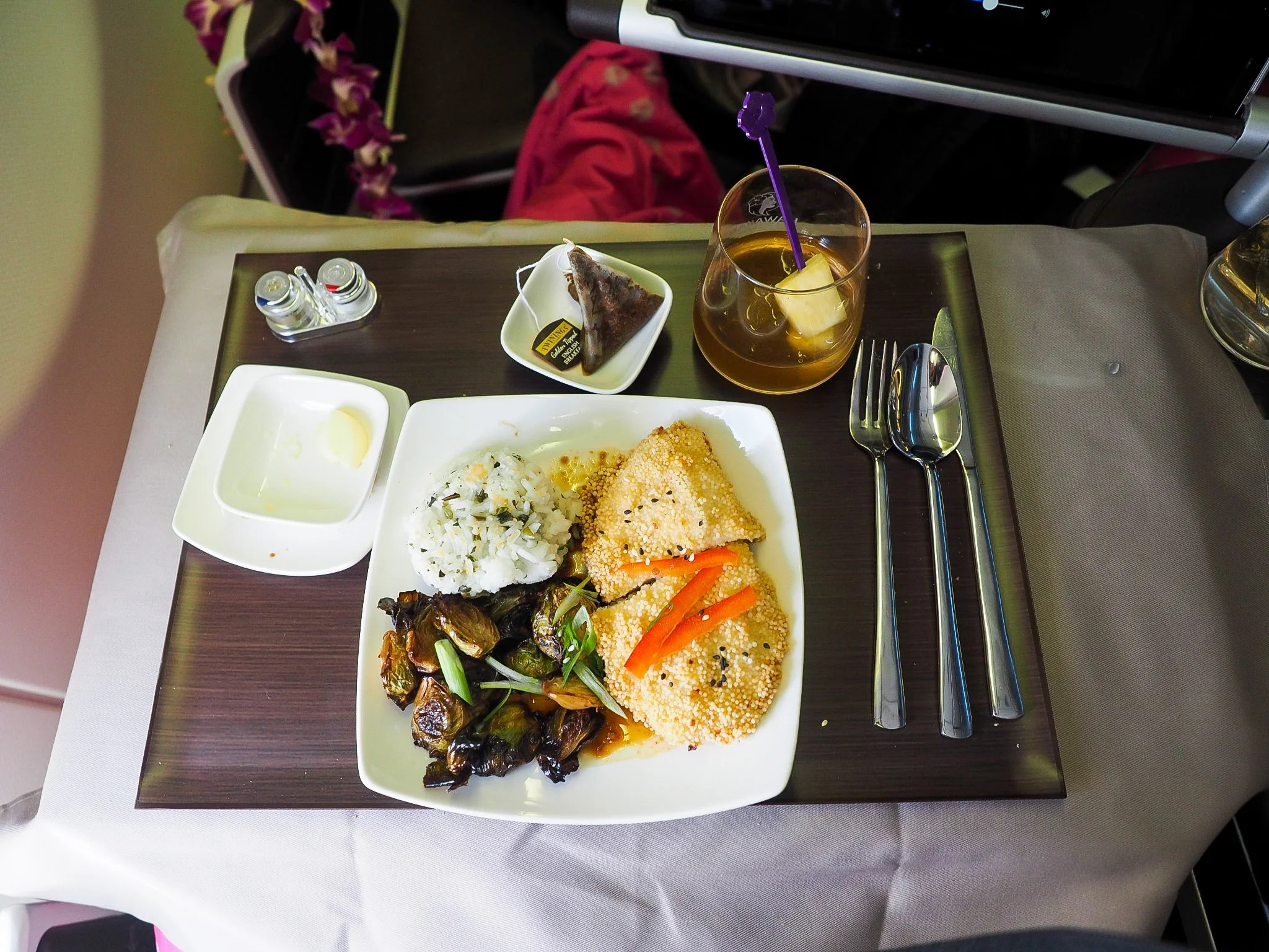 Review: Hawaiian Airlines A330 First Class BOS-HNL