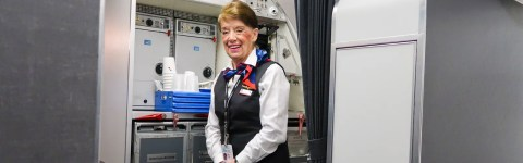 Flying With the World's Oldest Flight Attendant