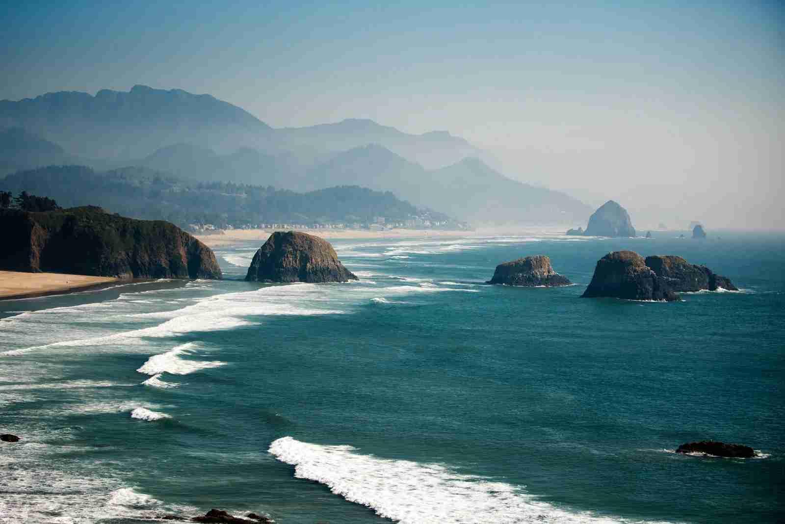 Haystack Rock. (Photo by Carmen Martínez Torrón / Getty Images)