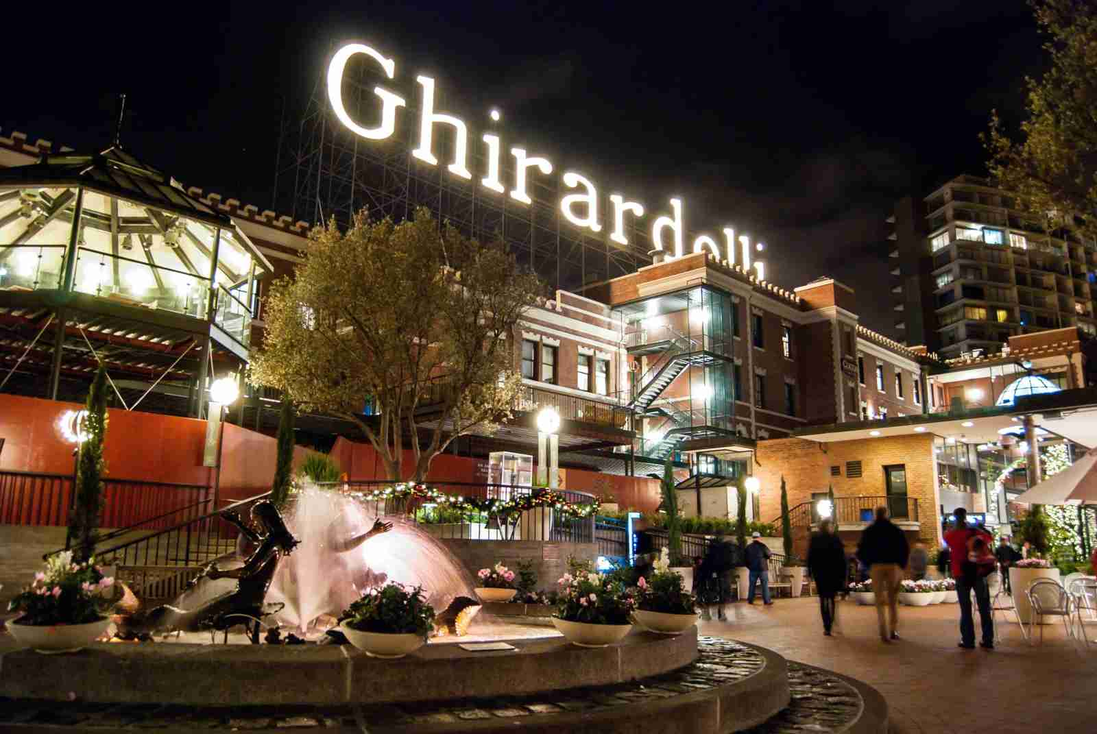 Ghirardelli Square. (Photo by Josh Spradling / 500px / Getty Images)