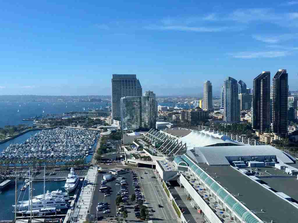 view of downtown San Diego