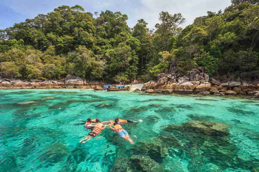 Koh Lipe of the Andaman Sea, Thailand. (Photo via Shutterstock)
