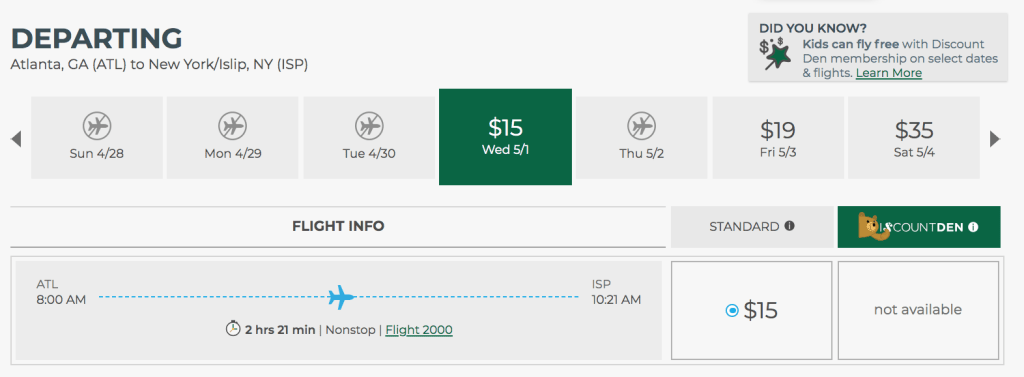 Best Frontier Sale Of The Year Penny Fares Kids Fly Free