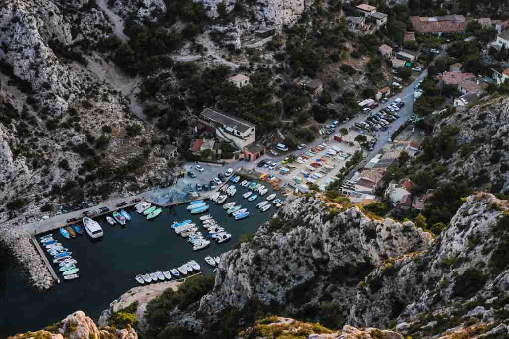 Les Calanques de Sugiton, Marseille. (Photo by Adam Dore / Unsplash)