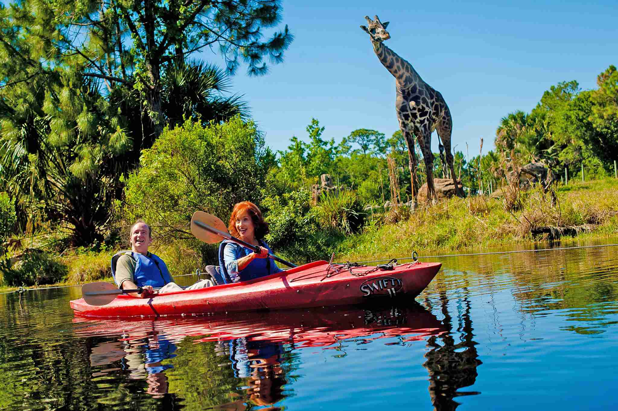 Space Coast Kayaking at Brevard Zoo