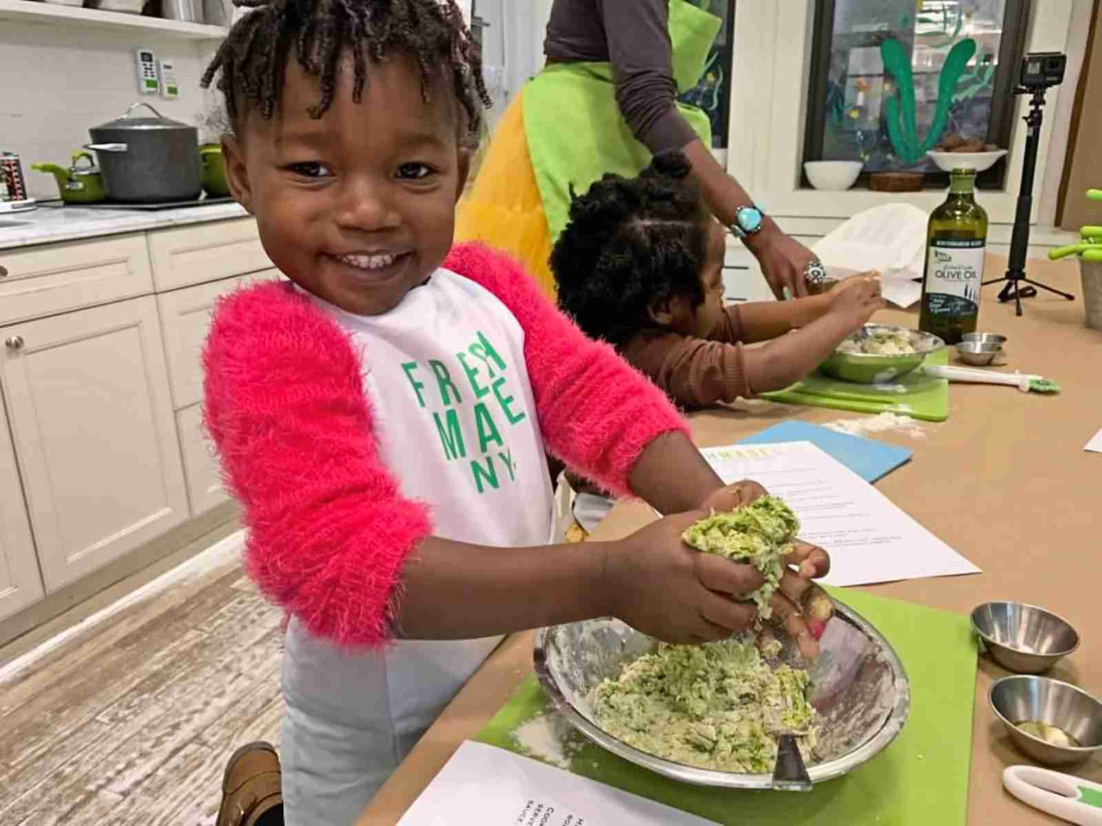 Unique Things to do with kids in NYC Cooking Class