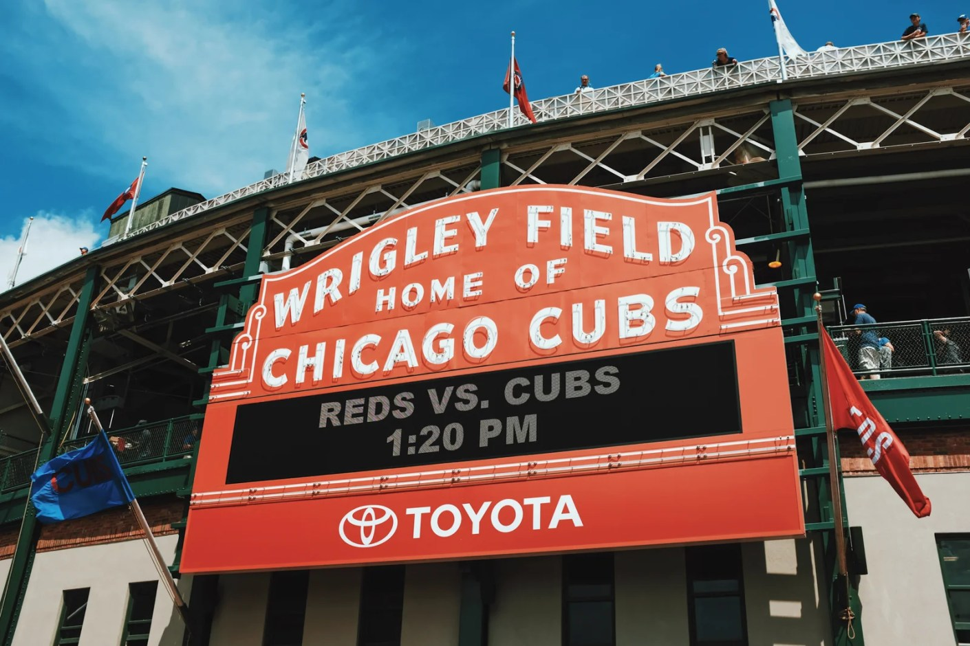Wrigley Field, home of the Chicago Cubs. (Photo by Blake Guidry / Unsplash)