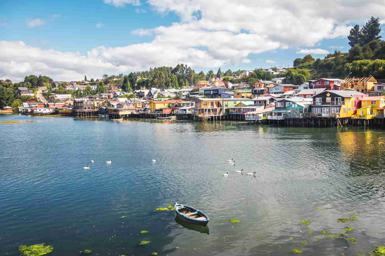Castro, Chiloe Island, Chile. (Photo by Diego Grandi / Getty)