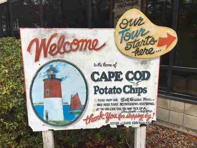 (Photo courtesy of Cape Cod Potato Chip Factory / Facebook)