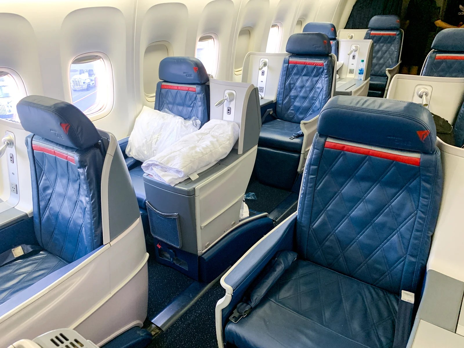 Inaugural Service for Delta's Retrofitted Boeing 767-400 Comes 4 Months Early