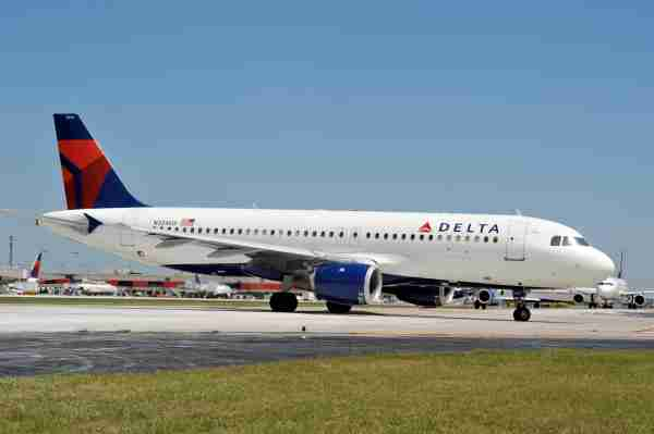 This undated file photo shows a Delta Air Lines Airbus A320. (Courtesy of Delta Air Lines)