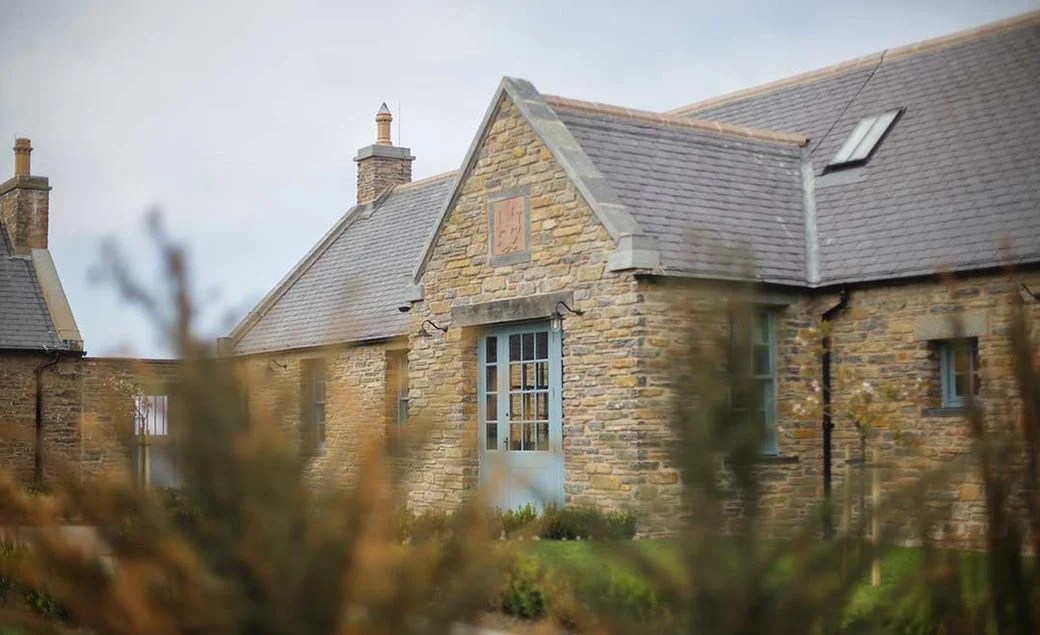 The Granary Lodge at the Castle of Mey in the Scottish Highlands. (Photo courtesy of The Castle and Gardens of Mey)