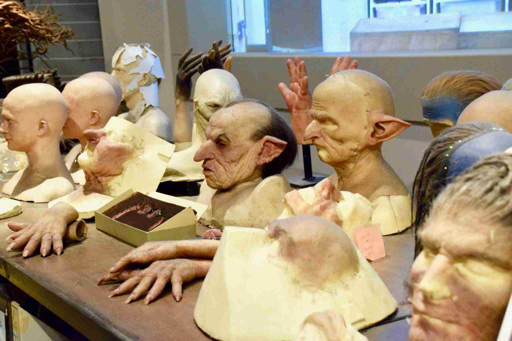 special effects masks Harry Potter Studios London