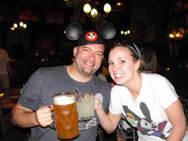 Epcot beer tour circa 2009