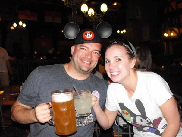 Epcot beer tour circa 2009