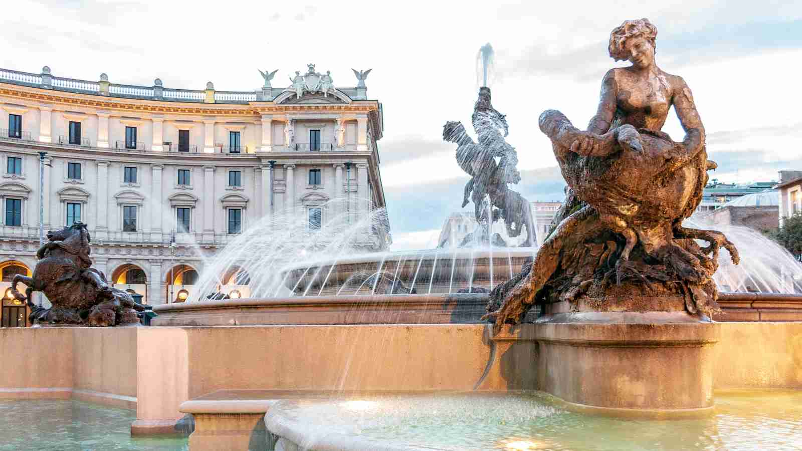 The Piazza della Repubblica. (Photo by John Seaton Callahan / Getty Images)