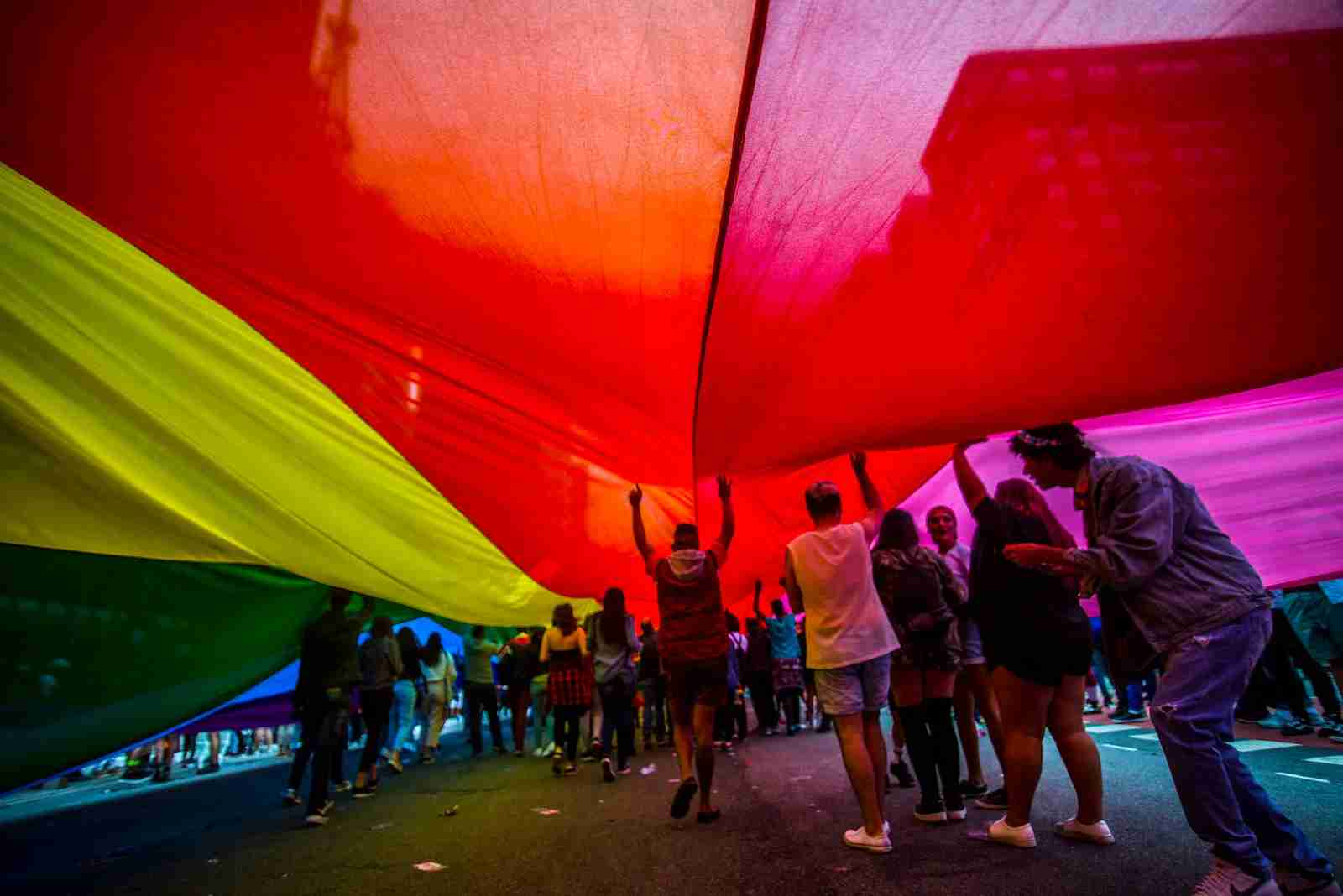 Sao Paulo hosts the 22nd annual LGBT Parade. (Photo by NurPhoto / Getty Images)