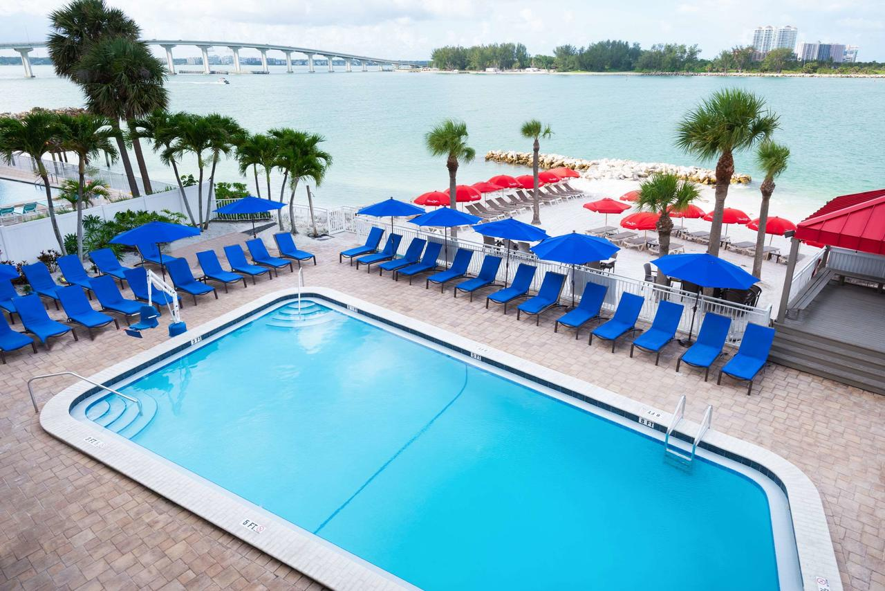The Quality Hotel Clearwater Beach Resort. (Photo courtesy of Quality Hotel Clearwater Beach Resort)