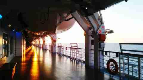 Sunset Cruise Boat Deck Interior