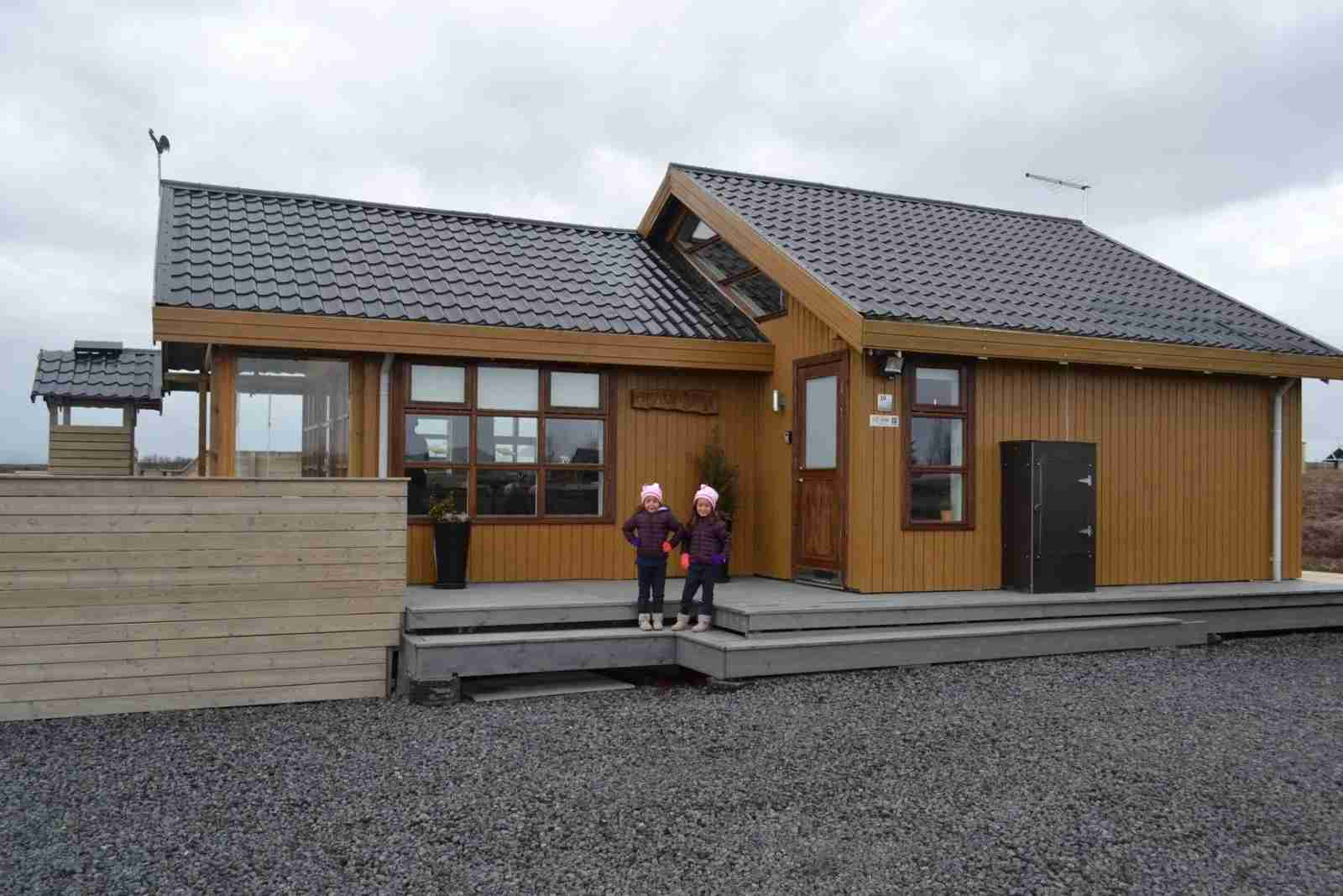 Our family-friendly Icelandic Cabin on the Golden Circle route.