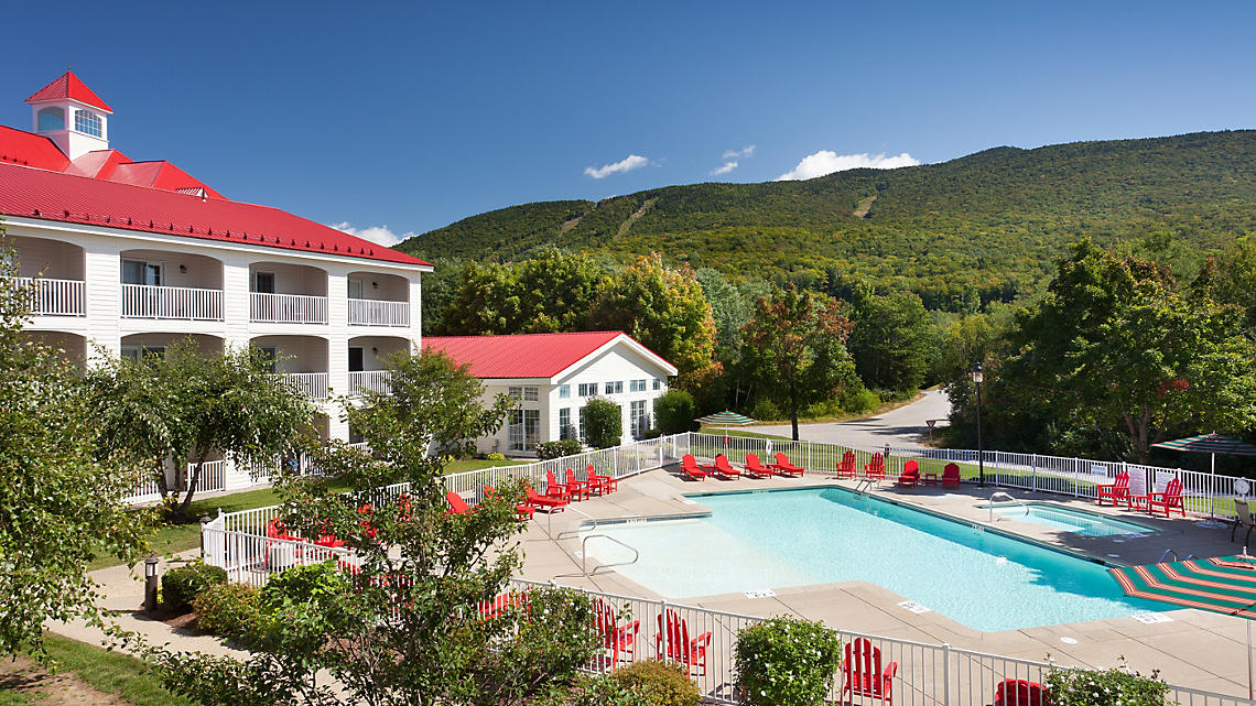 South Mountain Resort in Lincoln, NH. (Photo courtesy of Bluegreen Vacations)