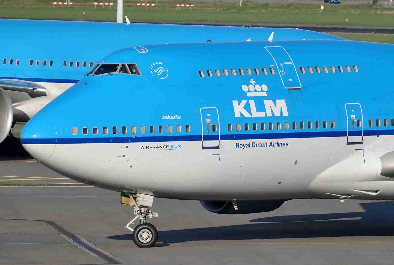 KLM names its 747s after cities in its long-haul network, like Jakarta (Photo by Alberto Riva/TPG)