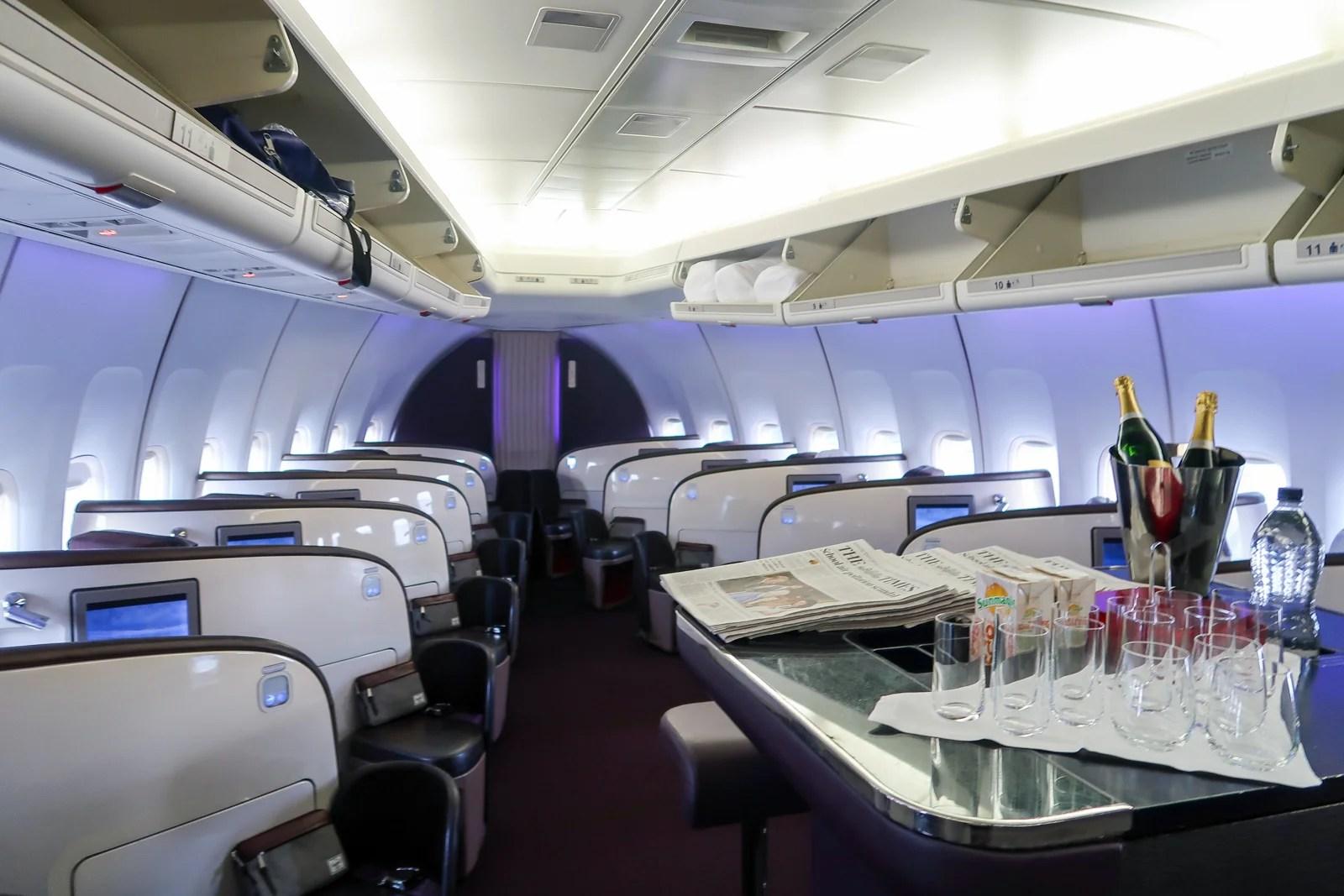 Review: Virgin Atlantic 747 Upper Class MAN-ATL