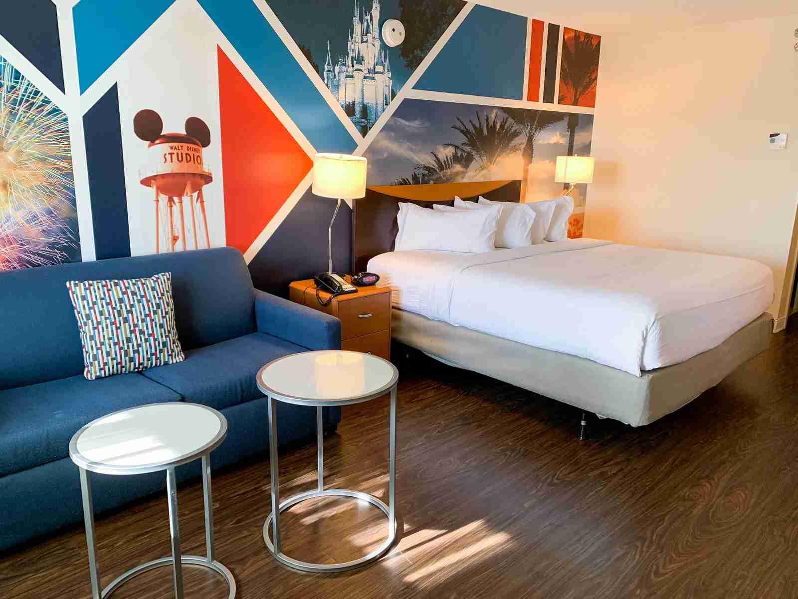 Fairfield Anaheim Disneyland Room