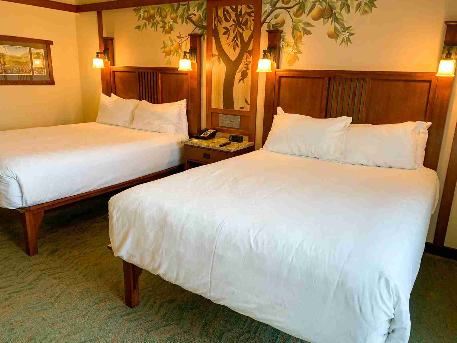 Disneyland Grand Californian Hotel Beds