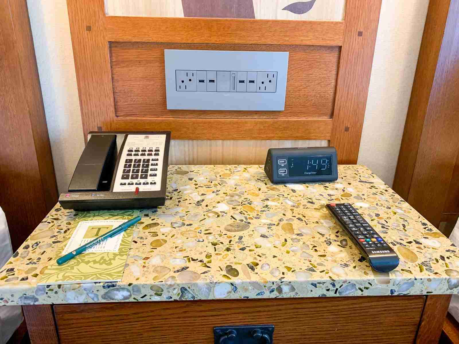 Disneyland Grand Californian Hotel Nightstand