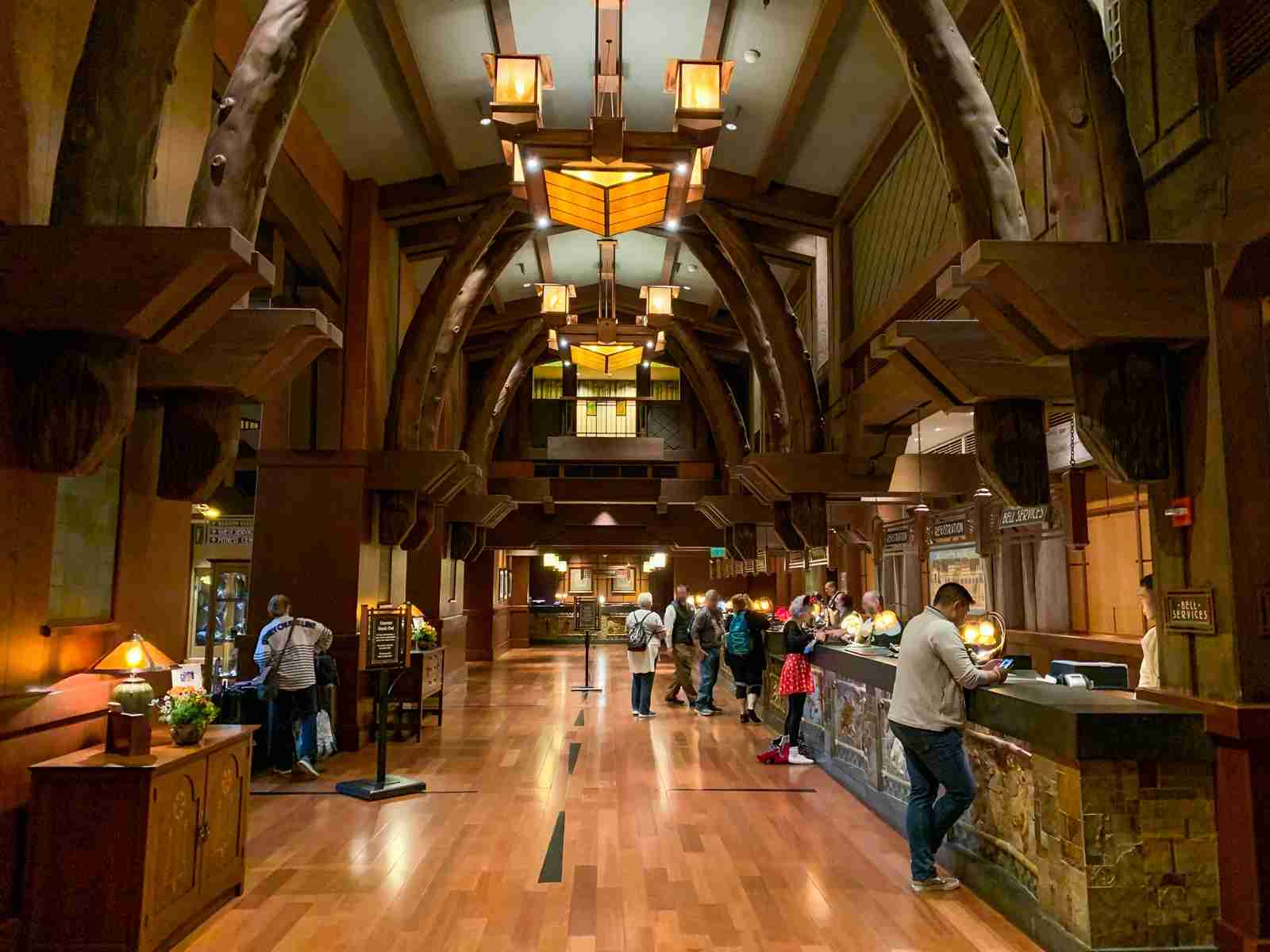 Disneyland Grand Californian Hotel Check In