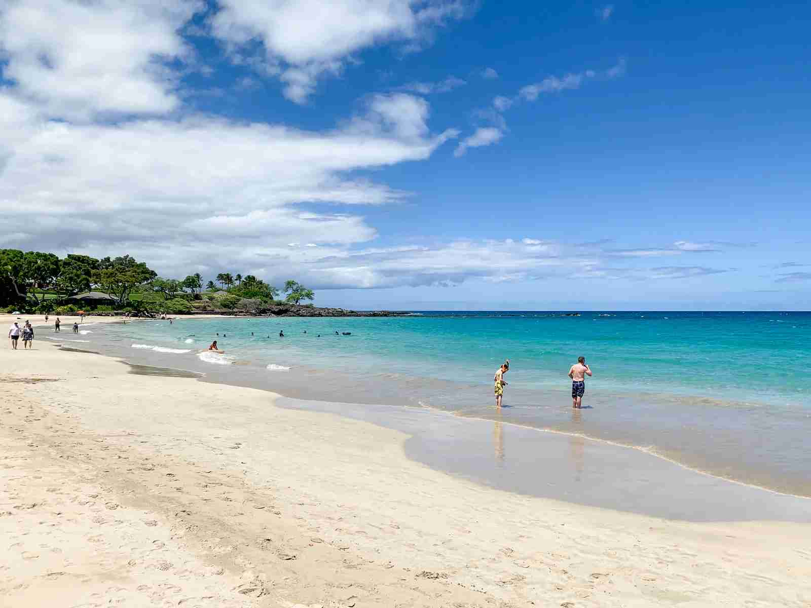 Beach at the nearby Mauna Kea (Photo by Summer Hull / The Points Guy)