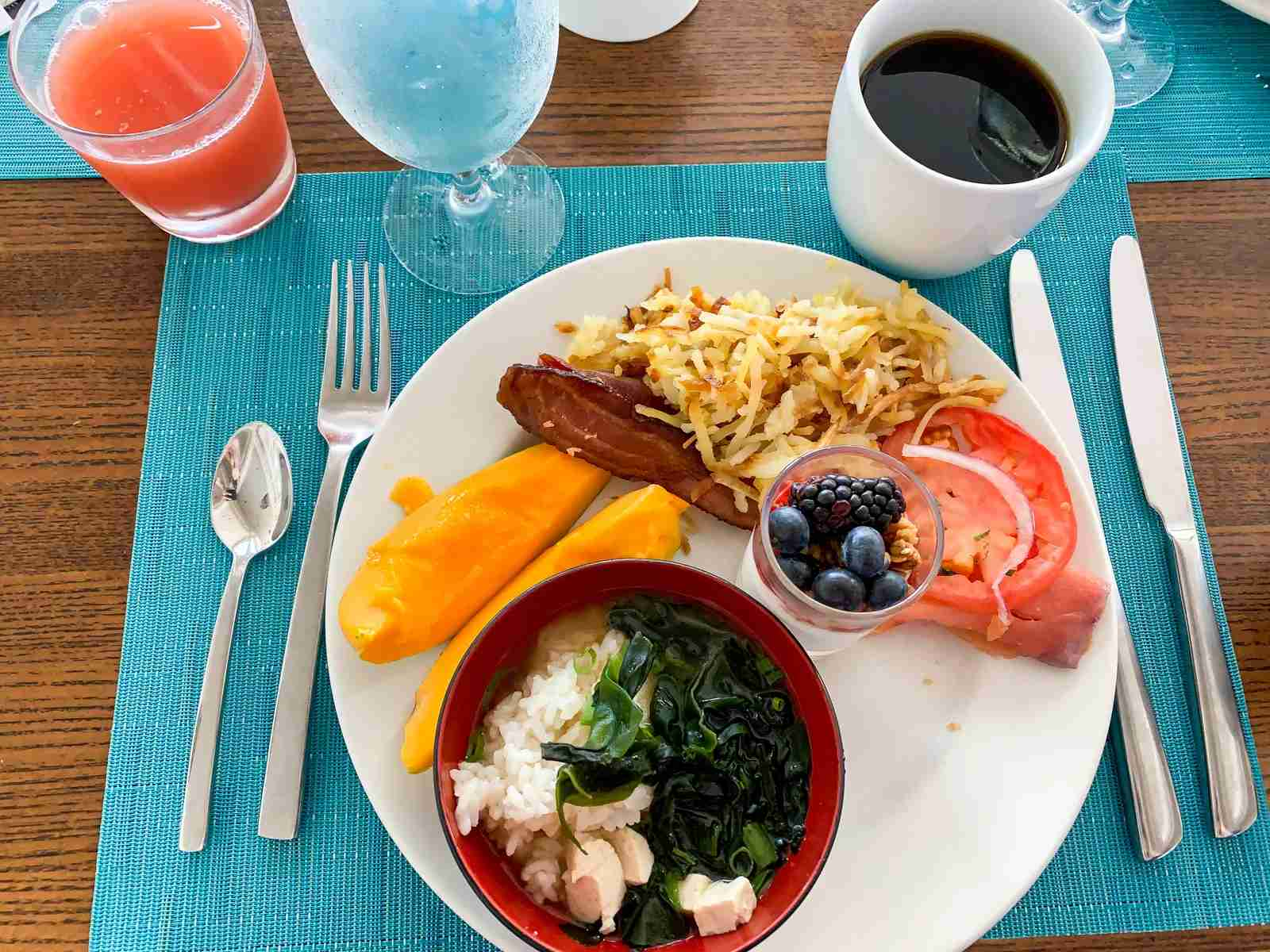 Free Platinum breakfast at the Westin Moana Surfrider in Hawaii (Photo by Summer Hull / The Points Guy)